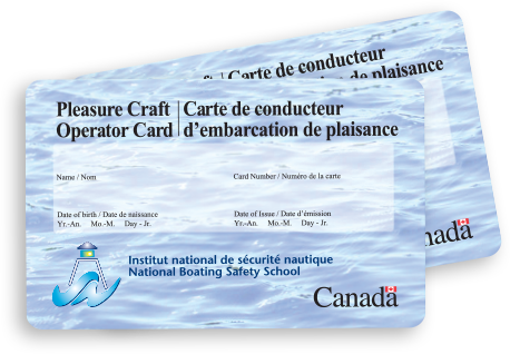 Get your official Pleasure Craft Operator Card